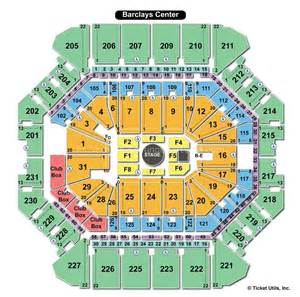 Barclays Center Floor Plan Barclays Center Ny Seating Chart View