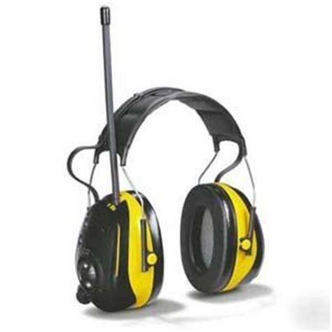 Ao Safety Worktunes By Peltor Am Fm Radio Hearing Muffs