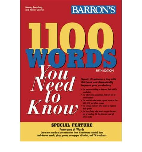 Barron S 1100 Words You Need To 1100 words you need to murray bromberg 9780764138645