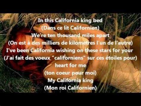 California King Bed Traduction Rihanna California King Bed Paroles Traduction