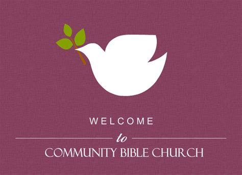 welcome card template baptism invitations dove on burgendy church welcome card