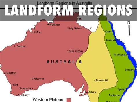 landform map australia s major landform regions by sarina wilson