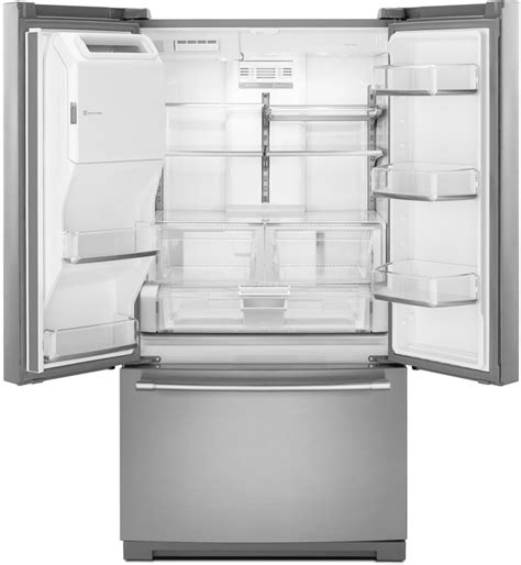maytag refrigerator drawer replacement maytag mft2776fez 36 inch french door refrigerator with 26