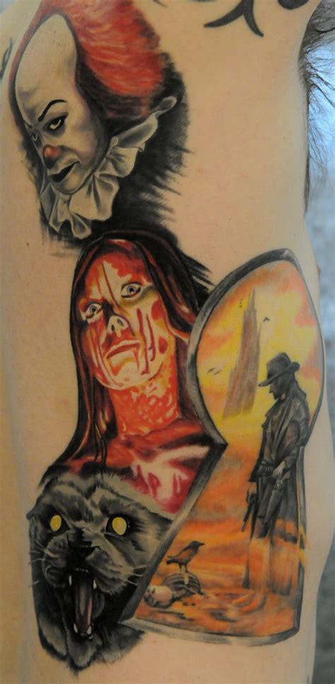 stephen king tattoos 22 best it images on horror horror