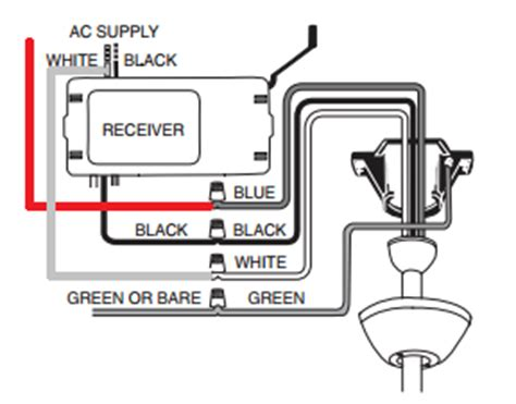 Ceiling Fan Wiring Diagram With Remote by Wiring How Should I Wire A Ceiling Fan Remote Where Two