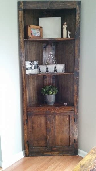 ana white corner shelf diy projects