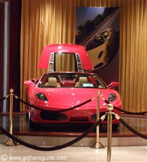Las Vegas Ferrari Store by Wynn Ferrari Shop Picture Wynn Ferrari Shop Photo