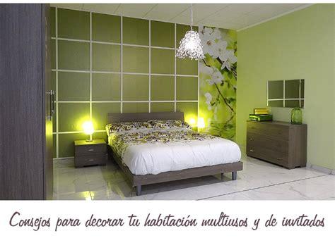 ideas para decorar habitacion de huespedes consejos para decorar tu habitaci 243 n multiusos
