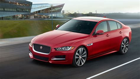 2017 jaguar xe red 200 interior and exterior images