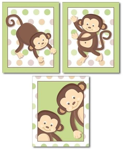 Monkey Nursery Decor 44 Best Monkey Business Images On Pinterest