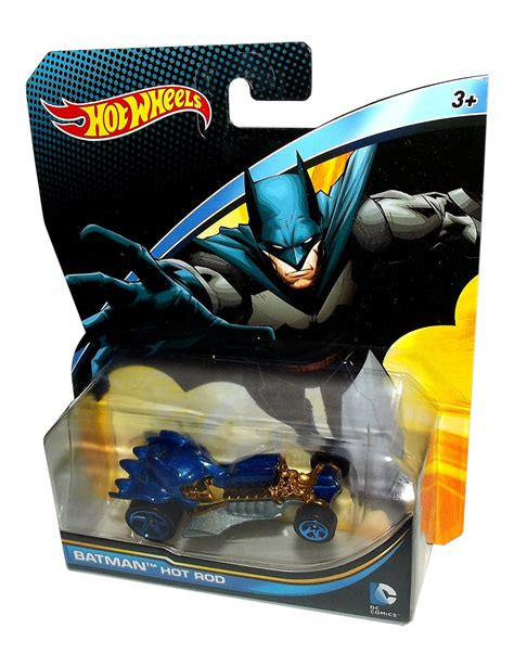 Hotwheels Batman Dc Rod wheels dc universe batman rod 1 64 collectible