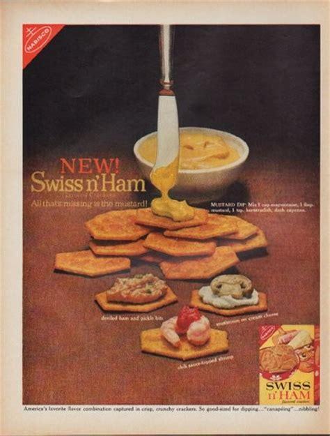 nabisco vintage ad  swiss  ham