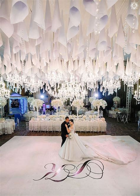 a heaven themed wedding merry to