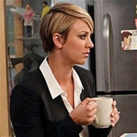why kaley cuoco cut her hair kaley cuoco bangs and short hairstyles on pinterest