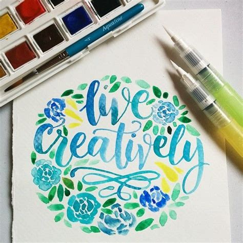 watercolor typography tutorial 25 best ideas about calligraphy art on pinterest