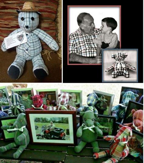 how to make a memory bear hidden treasure crafts and wonderful diy upcycled denim teddy bears