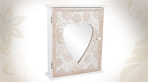 armoire 224 cl 233 s murale en bois avec miroir