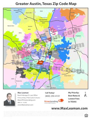 georgetown texas zip code map map by zip code fill printable fillable blank pdffiller