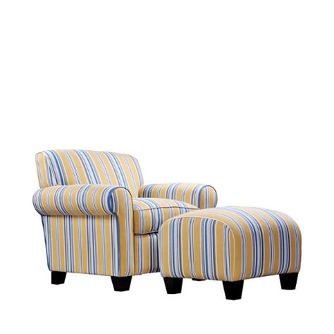 blue striped chair and ottoman this deals handy living wtk1 cu eba24 wtk transitional