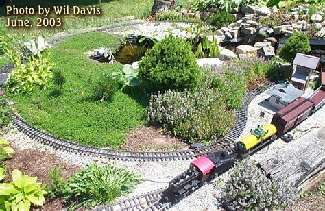 garden train layout design building a garden railroad on a budget