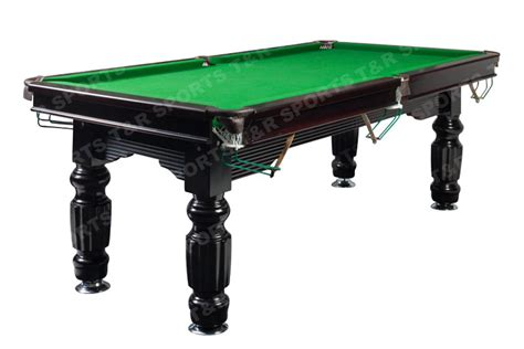 8ft size slate solid timber billiards pool table