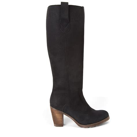 novacas faux suede boot womens apparel at vickerey