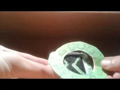 How To Make A Paper Ben 10 Omniverse Omnitrix - ben 10 omniverse paper the omnitrix third version