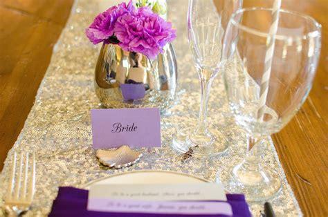bridal shower decoration ideas purple and silver kara s ideas purple silver bridal shower via kara s ideas karaspartyideas