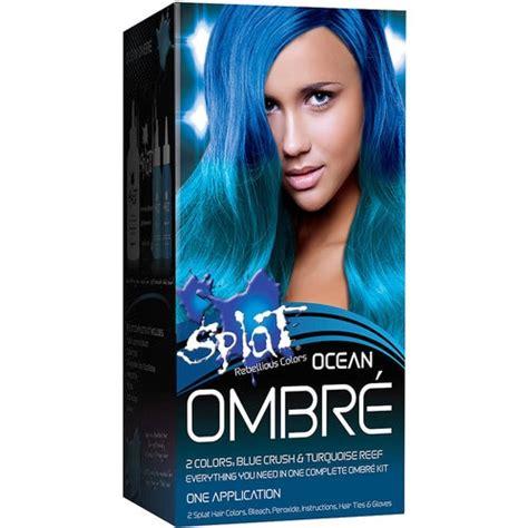 splat rebellious colors semipermanent hair dye ocean