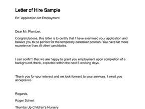 cover letter for company not hiring sle letter for hiring new staff cover letter