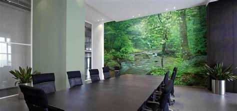 office wallpaper ideas  liven   workspace