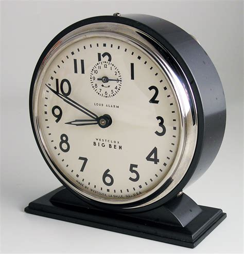 vintage alarm clock sales on the web since 1996