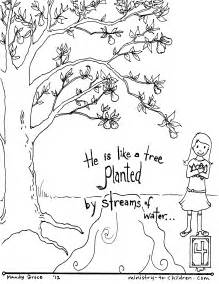 free bible coloring pages kjv bible coloring pages by verse psalm 1 free coloring