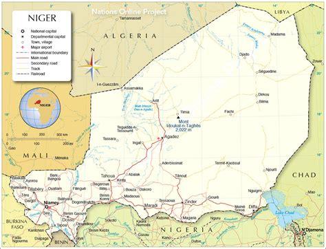 africa map niger niger political map orientalreview org