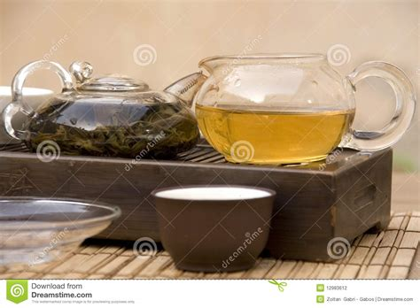 Ethnic Styles Kyushu Tea Set by Traditional Tea Set Stock Photography Image