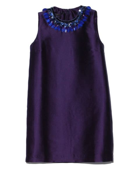 Pearl Dress By Finoura Navy of pearl navy beaded neckline dress in blue navy lyst