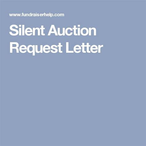 Donation Letter For Silent Auction Items 1000 Ideas About Silent Auction Donations On Auction Donations Silent Auction And