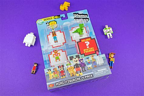 Disney Mini Figur Crossy Road take a peek at the adorable 8 bit collectibles in disney crossy road series 1 yayomg