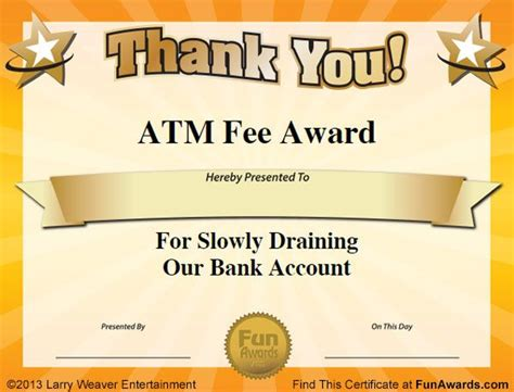 Free Silly Card Templates by 17 Best Ideas About Certificates On