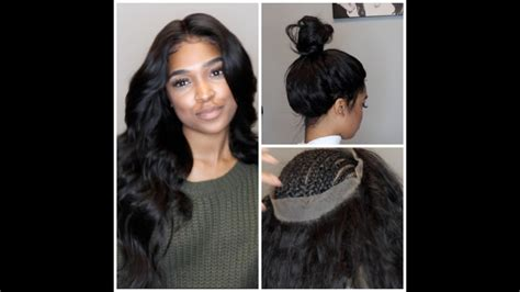 try new hairstyles virtually 360 degree 360 lace frontal install no glue tape or gel youtube