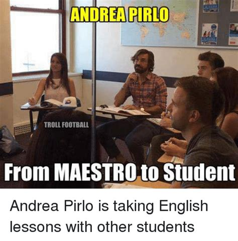English Student Meme - funny andrea pirlo memes of 2017 on sizzle dimitri payet