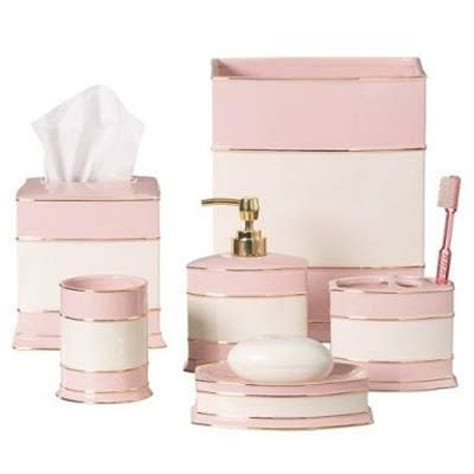 pink bathroom accessories sets 25 best images about bath accessories on pinterest art