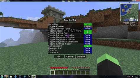 reis minimap mod for minecraft 181710172164 minecraft 1 2 5 how to install reis minimap youtube