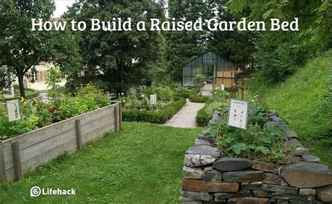 how to make a garden bed how to build a raised garden bed
