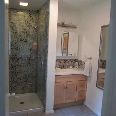 shower stall ideas for a small bathroom bathroom picture of grey white small bathroom