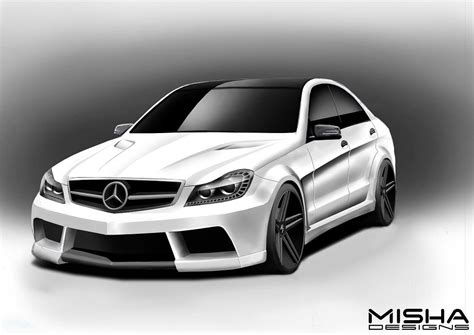 Bodykit Mercy W204 C Class Amg C63 Asli Plastik Taiwan benzboost another w204 c class widebody kit option