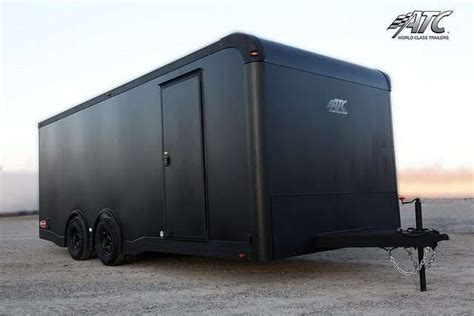 Trailer Kitchen Cabinets Custom Atc Aluminum Motorcycle Trailers Mo Great Dane