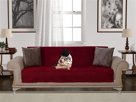 antislip armless piece sofa throw slipcover  dogs pets