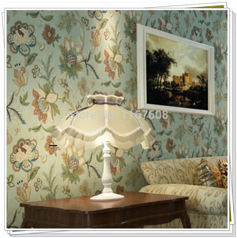 Vintage Bedroom Wall Ls by Vintage Country Wall Paper Floral Wall Paper Roll 10m