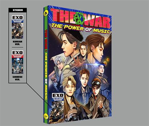 exo album power exo reveals details for graphic novel themed album soompi